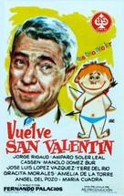 Vuelve San Valentín - Spanish Movie Poster (xs thumbnail)