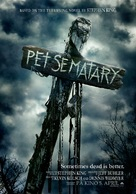 Pet Sematary - Norwegian Movie Poster (xs thumbnail)