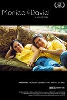 Monica & David - Movie Poster (xs thumbnail)