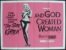 Et Dieu... créa la femme - British Movie Poster (xs thumbnail)