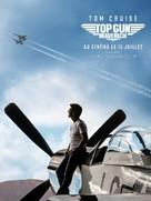 Top Gun: Maverick - French Movie Poster (xs thumbnail)