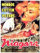 Niagara - Belgian Movie Poster (xs thumbnail)