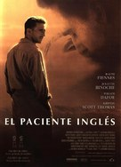 The English Patient - Spanish Movie Poster (xs thumbnail)