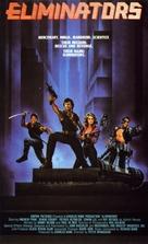 Eliminators - Norwegian VHS cover (xs thumbnail)