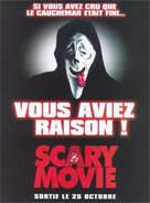 Scary Movie - French Movie Poster (xs thumbnail)