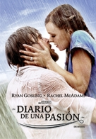 The Notebook - Argentinian DVD cover (xs thumbnail)