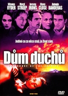 The House of the Spirits - Czech DVD cover (xs thumbnail)