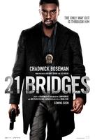 21 Bridges - Movie Poster (xs thumbnail)