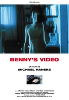 Benny's Video - French DVD movie cover (xs thumbnail)