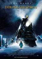 The Polar Express - German Movie Poster (xs thumbnail)