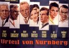 Judgment at Nuremberg - German Movie Poster (xs thumbnail)