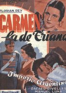 Carmen, la de Triana - Spanish Movie Poster (xs thumbnail)