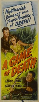 A Game of Death - Movie Poster (xs thumbnail)