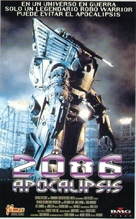 Robo Warriors - Spanish Movie Cover (xs thumbnail)