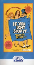 If You Don't Stop It... You'll Go Blind!!! - VHS cover (xs thumbnail)
