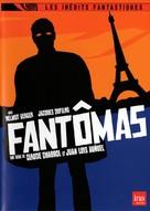 """Fantômas"" - French DVD movie cover (xs thumbnail)"