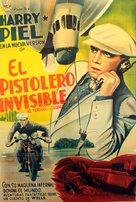 Ein Unsichtbarer geht durch die Stadt - Spanish Movie Poster (xs thumbnail)