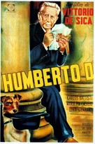 Umberto D. - Argentinian Movie Poster (xs thumbnail)