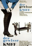 The Knack ...and How to Get It - German Movie Poster (xs thumbnail)