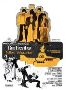 Yellow Submarine - Spanish Movie Poster (xs thumbnail)