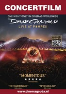 David Gilmour Live at Pompeii - Dutch Movie Poster (xs thumbnail)
