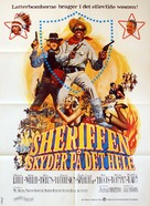 Blazing Saddles - Danish Movie Poster (xs thumbnail)