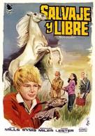 Run Wild, Run Free - Spanish Movie Poster (xs thumbnail)