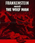 Frankenstein Meets the Wolf Man - poster (xs thumbnail)