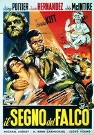 The Mark of the Hawk - Italian Movie Poster (xs thumbnail)