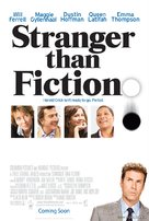 Stranger Than Fiction - Theatrical movie poster (xs thumbnail)