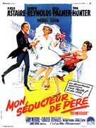 The Pleasure of His Company - French Movie Poster (xs thumbnail)