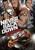 Never Back Down: No Surrender - DVD movie cover (xs thumbnail)
