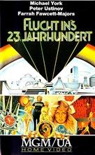 Logan's Run - German VHS movie cover (xs thumbnail)