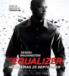 The Equalizer - Malaysian Movie Poster (xs thumbnail)