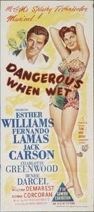 Dangerous When Wet - Australian Movie Poster (xs thumbnail)