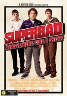 Superbad - Hungarian Movie Poster (xs thumbnail)
