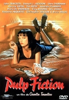 Pulp Fiction - French DVD movie cover (xs thumbnail)