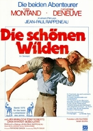 Le Sauvage - German Movie Poster (xs thumbnail)