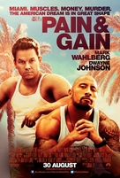 Pain & Gain - British Movie Poster (xs thumbnail)
