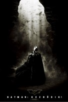 Batman Begins - Hungarian Movie Poster (xs thumbnail)