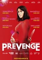 Prevenge - Spanish Movie Poster (xs thumbnail)