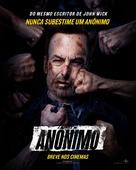 Nobody - Brazilian Movie Poster (xs thumbnail)
