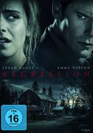 Regression - German DVD movie cover (xs thumbnail)