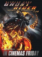 Ghost Rider: Spirit of Vengeance - British Movie Poster (xs thumbnail)