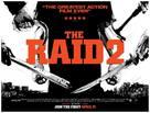 The Raid 2: Berandal - British Movie Poster (xs thumbnail)