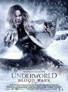 Underworld Blood Wars - French Movie Poster (xs thumbnail)