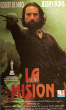The Mission - Argentinian VHS movie cover (xs thumbnail)