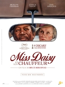 Driving Miss Daisy - French Movie Poster (xs thumbnail)