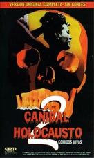 Mangiati vivi! - Argentinian VHS cover (xs thumbnail)