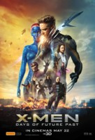 X-Men: Days of Future Past - Australian Movie Poster (xs thumbnail)